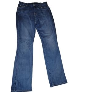 7 For All Mankind Kimmie High Rise Straight Leg